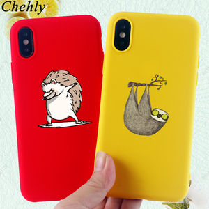 Hedgehog Phone Case for IPhone