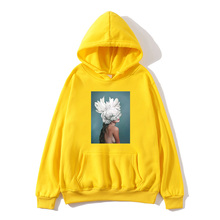 Japanese hip hop spring and autumn fleece hooded Harajuku beauty pattern printing ladies hoodie mens sweatshirt new 2019 hot ho