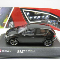 1/43 scale seat leon car model toy diecast for collection