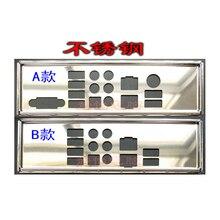 IO I/O לגונן חזרה BackPlate הצלחת BackPlates Blende סוגר עבור Supermicro X10DAI X10DAX X9DA7
