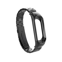 smart watch strap for Xiaomi Wrist Strap Sport Metal For Mi Band3 Smart Bracelet Band 3 Accessories