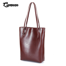 Luxury Brand Genuine Leather Women Messenger Bags 2019 Women Real Leather Handbag Shoulder Bag Bucket Ladies Casual Shopping Bag cow leather shoulder bag brand 2018 new messenger bag women 100% genuine leather handbag fashion bucket bag