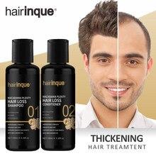 Champú para el crecimiento del cabello para hombres y mujeres, conjunto de regalo, espesante, productos para el cuidado de la caída del cabello, tratamiento de crecimiento del cabello, aceite SÉRUM