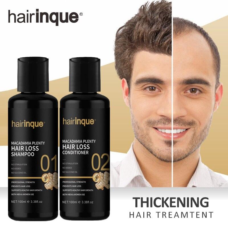Macadamia pogrubienie szampon do włosów i odżywka zestaw wzmocnienie do odrastania włosów zestaw upominkowy mnóstwo Lossing pielęgnacja włosów