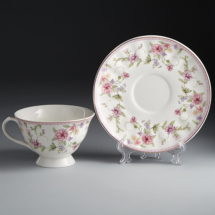 купить Set tea Rosario Robert Ф2-033 P/6 to 6 персон, 12 pieces по цене 1650 рублей