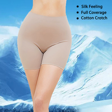 Women Slip Shorts for Under Dresses Comfortable and Soft Seamless Short Shapewear Panty Smooth Clothes