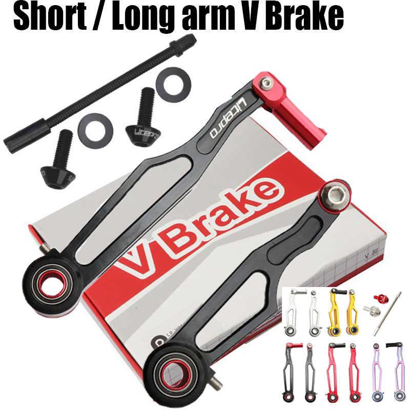 LitePro Road Folding XC Bike V brake Long arm 108 Short 82mm Brakes City Bicycle