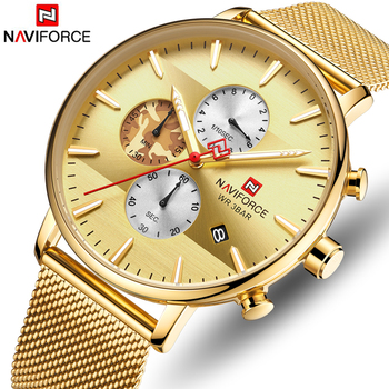 NAVIFORCE 9169 Mens Watch Top Brand Luxury Fashion Quartz Men Watches Waterproof with box