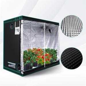 Image 5 - 1680D 화성 하이드로 240X120X200cm 실내 LED 성장 텐트 실내 성장 시스템 비 독성 식물 룸 실내 정원 방수 오두막