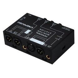 Lynepauaio Audio Mixer 3 Channel Stereo Micro-phone Mixer With Headphone Monitor Volume Adjustment Dc12V Power Xlr Balance Signa