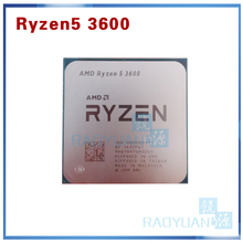 CPU Processor Amd Ryzen 3600-3.6 AM4 Six-Core Twelve-Thread Ghz 7NM 65W L3--32m 100-000000031-Socket