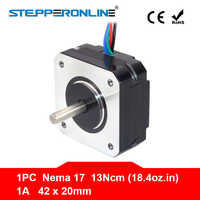 Short Body Nema 17 Stepper Motor 20mm 13Ncm 1A Nema17 Step Motor 4-lead 17HS08-1004S Motor for CNC Extruder 3D Printer Motor