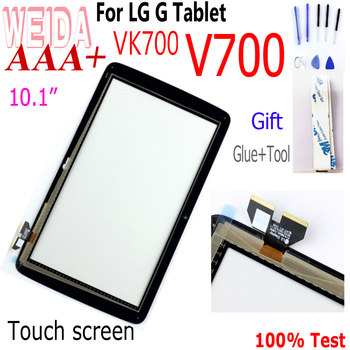 WEIDA 10.1 For LG G Pad LG-V700 VK700 V700 Touch Screen Digitizer Glass Replacement Free Shipping VK700 Touch screen Panel skylarpu touch screen digitizer panel for lxe vx9 forj rugged wireless vehicle mount computers free shipping
