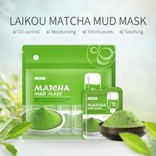 12PCS Matcha Soft Pottery Clay Mask Anti-wrinkle Night Face Pack Dark Circle Moisturizing Anti-aging Mask Facial Care