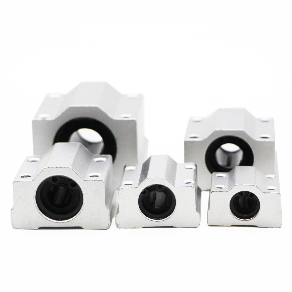 <font><b>4pcs</b></font>/lot <font><b>SC8UU</b></font> SCS8UU SCS6UU SCS10UU SCS12UU SCS8LUU SCS10LUU SCS16UU 8mm Linear Ball Bearing Block CNC Router 3D printer parts image