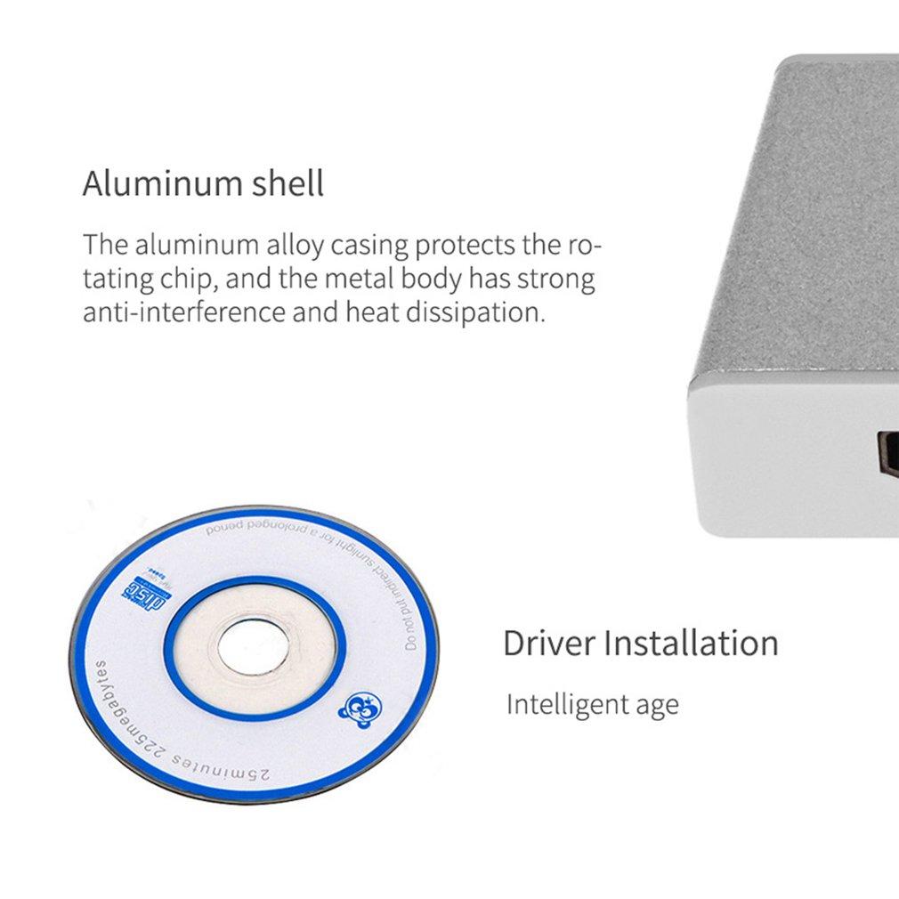 Hd 1080p usb 30 к hdmi адаптер кабель внешняя видеокарта мульти