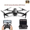 VISUO ZEN K1 GPS Drone mit 5G WIFI 4K Weitwinkel HD FPV Dual Kamera Bürstenlosen Motor RC Drone Quadcopter Flug 28 Minuten VS B4W
