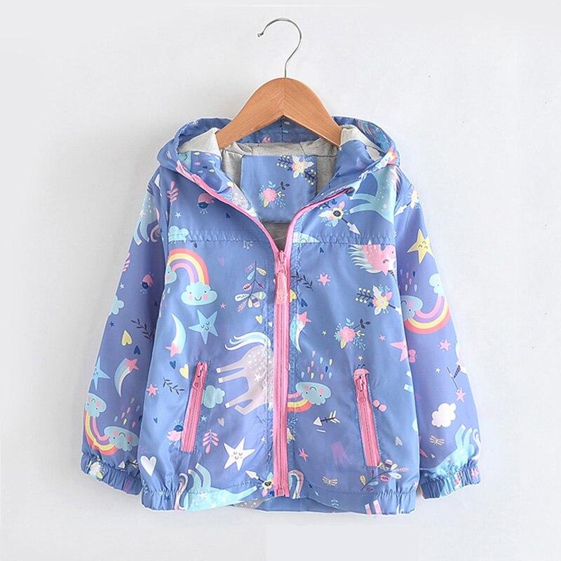 babyinstar 2019 meninas arco iris casacos bebe menina dos desenhos animados blusao jaqueta criancas roupas unicornio