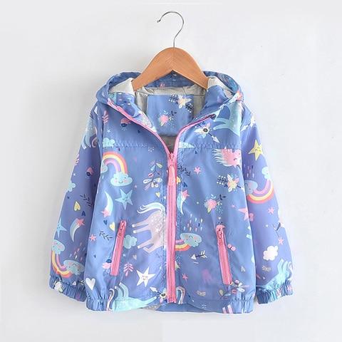 babyinstar 2019 meninas arco iris casacos bebe menina dos desenhos animados blusao jaqueta criancas roupas