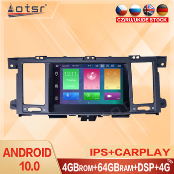 Carplay Car Multimedia Radio For Infiniti QX80 2012 - 2018 Android GPS Navigation PX6 64G Multi-DVD Video Player HD Touch Screen image