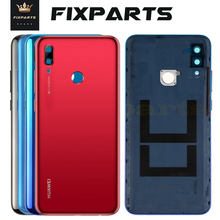 Original Huawei P Smart 2019 Back Battery Cover Rear Housing Case With Camera Lens Replacement Huawei P Smart 2019 Battery Cover(China)