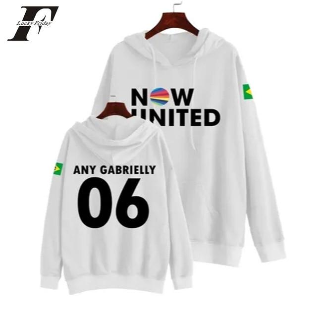 Now United Sabina Hidalgo 03 Hoodie Sweatshirts Trui Kpop Newtracksuit Streetwear Print Casual Mannen Vrouwen Printed Coat Tops 7