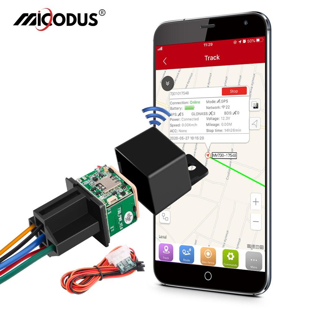 GPS-трекер MiCODUS автомобильный, 9-90 В, С функцией отключения подачи топлива