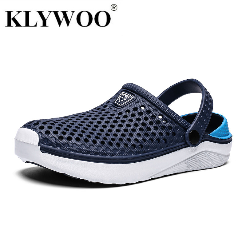 KLYWOO Sandals Slippers Outdoor Unisex Casual Fashion Breathable Comfort Men title=