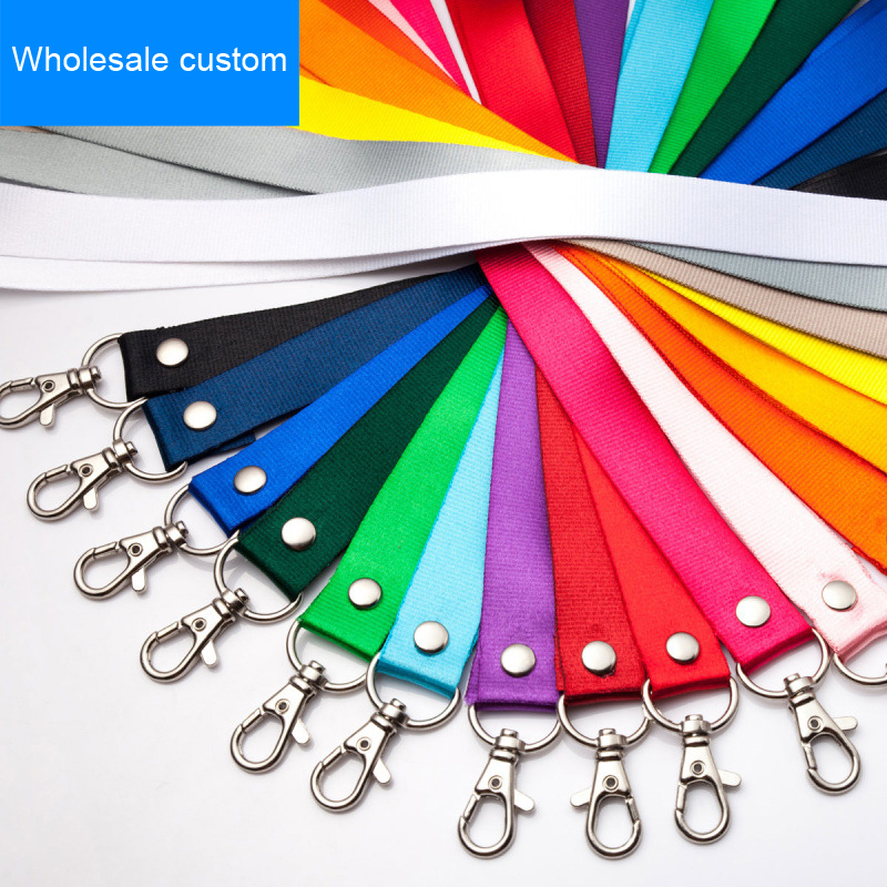 Customizable Clip Lanyard For Id Badge Holder  Reel Lanyard Badge  Name Tag Office Supplies  Stationery  Stationary Bage Holder