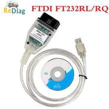 Cabo diagnóstico MINI-VCI de ti mini vci ft232rl do tis techstream j2534 mini vci para toyota mini vci j2534 techstream