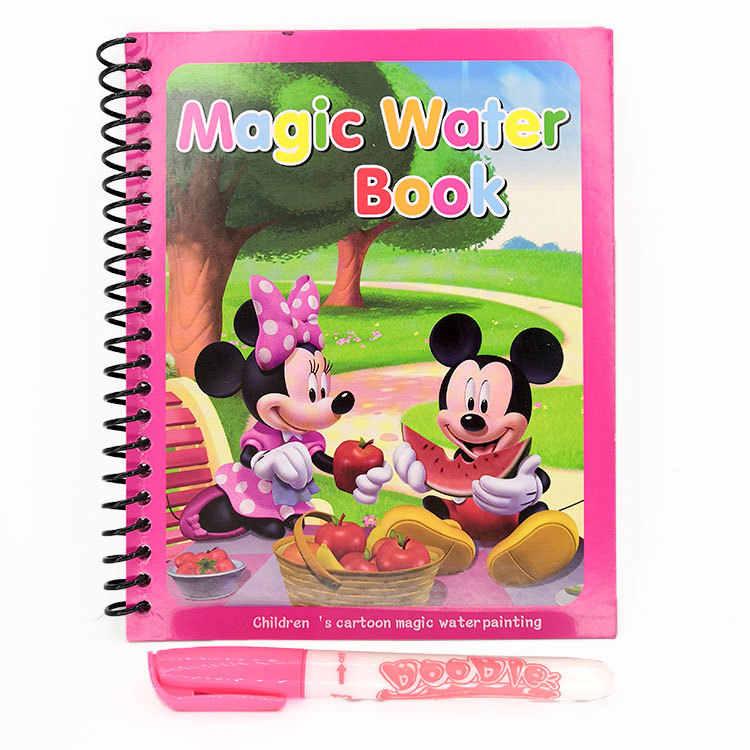 Disney Prenses Sophia Sihirli Su Boyama Kitabi Mickey Minnie Bobin
