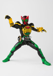 "Image 4 - 100% Original BANDAI Tamashii Nations SPIRITS S. h. figuarts (SHF) Action Figure Masked Rider OOO TaToBa Combinação de ""Kamen Rider OOO"""
