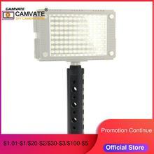 """CAMVATE alüminyum alaşımlı kamera kolu kavrama ile 3/8 """" 16 diş kafa Video/monitör/flaş ışığı/Dijital kameralar kameralar"""