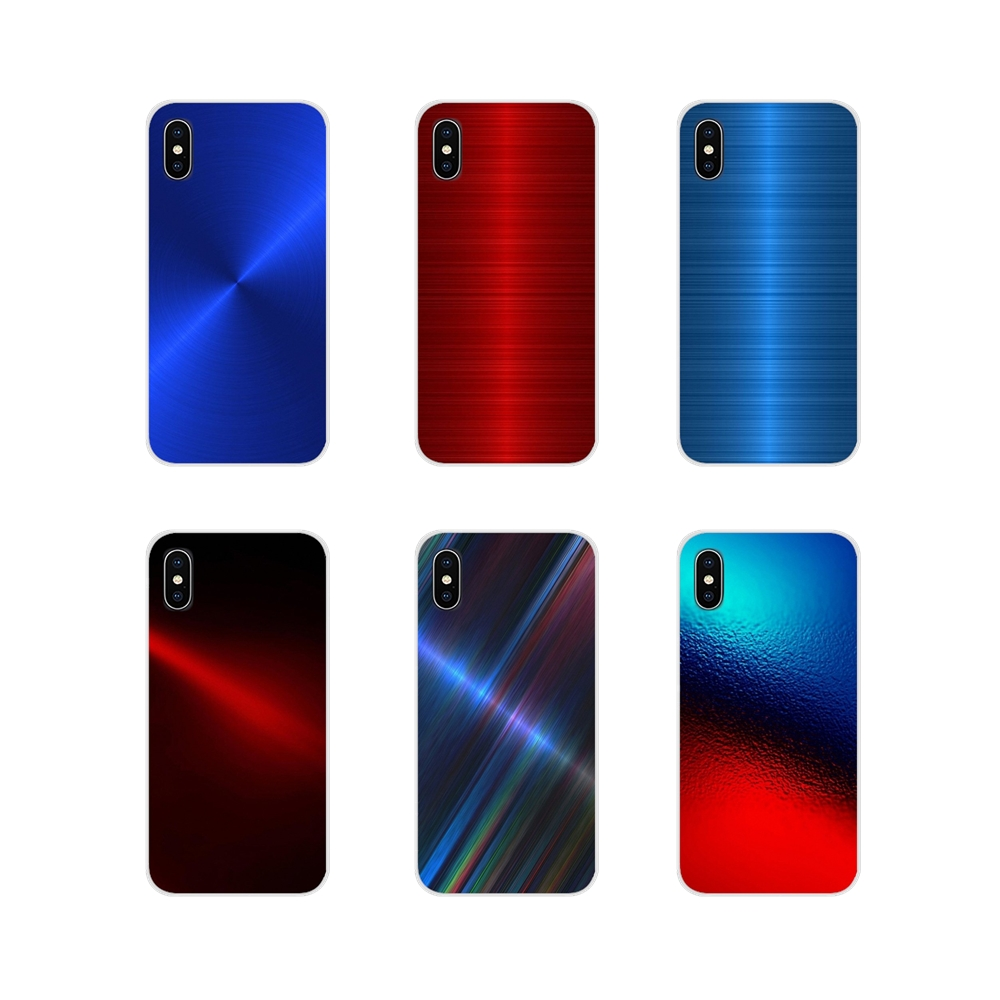 For LG G3 G4 Mini G5 G6 G7 Q6 Q7 Q8 Q9 V10 V20 V30 X Power 2 3 K10 K4 K8 2017 Silicone Phone Cases Covers Red Blue Brushed Metal