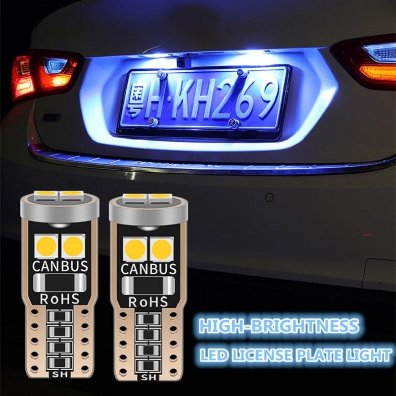 Revere 10 x White LED Interior Bulbs Tag Lights for 2011-2017 WRX STI Sedan