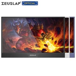 Image 4 - ZEUSLAP dünne tragbare lcd hd monitor 15,6 usb typ c hdmi für laptop, telefon, xbox, schalter und ps4 tragbare lcd 1080p gaming monitor