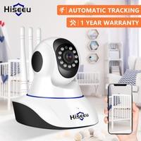 Hiseeu Home Security 1080P 3MP Wifi IP Cámara Audio registro tarjeta SD memoria P2P HD CCTV vigilancia inalámbrica Cámara Monitor de bebé