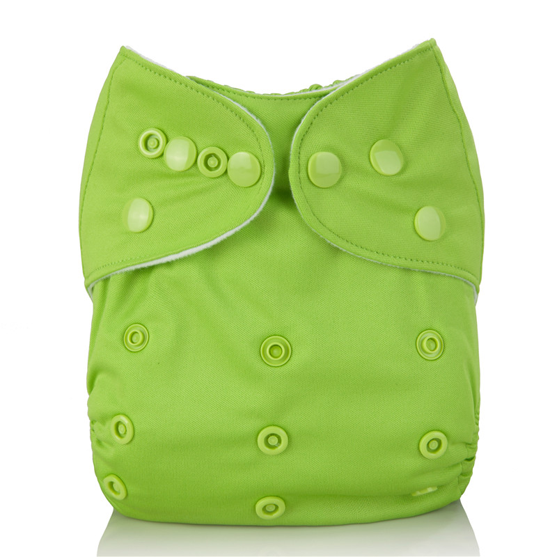 10Pcs U Pick Washable Cloth Diaper With 1pc Microfiber Insert Reusable Baby Cloth Nappy For Unisex