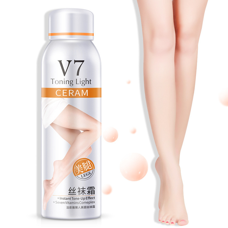 2PCS  V7 Liquid Pantyhose Tight Skin Silk Mask Autumn Winter Moisturizing Oil Control Wrap