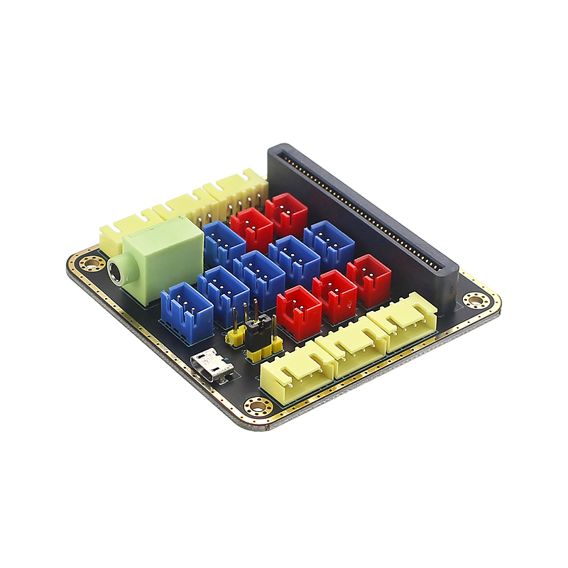 Micro: Bit Expansion Board Sensor Module Micro: Bit Adapter Board Module For Python Graphical Programming Parts