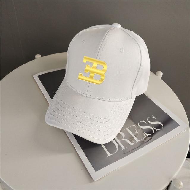 Gold Bugatti Cap Fashion Accessories Baseball Hat Golf Hat Snapback Cap Men Women Cap Sports Cap Outdoors Cap Hip-hop Cap 2