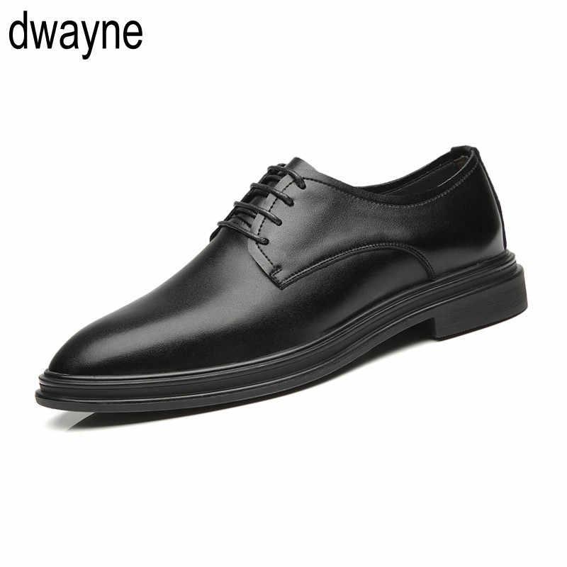 Marca hombres Simple ligero hombres clásicos zapatos de Derby hombre vestido de negocios zapatos formales hombres