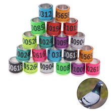 Foot-Ring Pigeon Durable with Quality Racing Bird-Tools 20pcs Multicolor