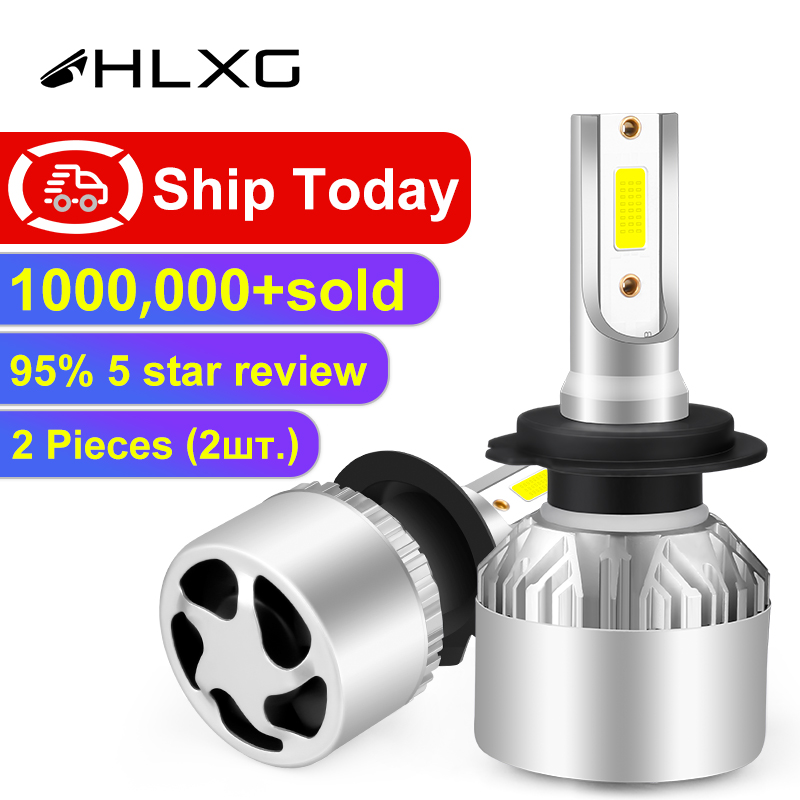 Hlxg Car-Headlight-Bulbs Car-Accessories Fog-Light 8000K Auto 72W H3 9005 6500K 4300K