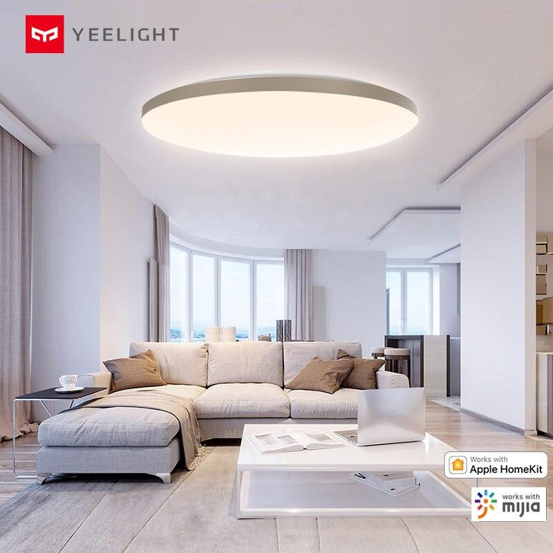 Nieuwe Yeelight 50W Smart Led Plafond Verlichting Kleurrijke Omgevingslicht Homekit Mijia App Controle 220V Voor Woonkamer YLXD50YL 3000lm