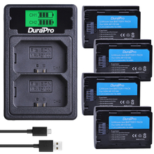 2280mAH NP FZ100 NP-FZ100 Battery + LCD USB Charger with Type C Port for Sony BC-QZ1 Alpha 9,A7RIII,ILCE-7RM3,A9,A9R,Alpha 9s