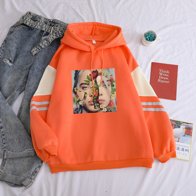 BILLIE EILISH THEMED HOODIE (3 VARIAN)