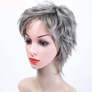 Image 3 - MUMUPI synthetic  Short curly wig hair extension pixie Cut Wig for Women High Temperature Fiber Wig Fashion Lady Wig