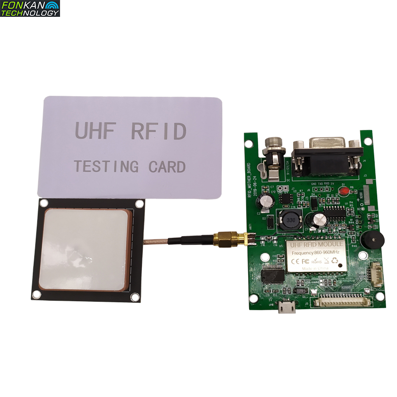FONKAN 860-960MHz Full Band USB And Series Port TTL3.3V RFID UHF Development Kit Module For Android And Window System
