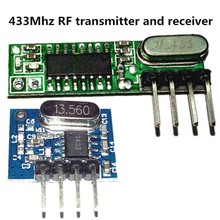 Reference Title: 1 Set 433Mhz RF Superheterodyne Receiver Transmitter Module Kit With Antenna For ARM/MCU(China)